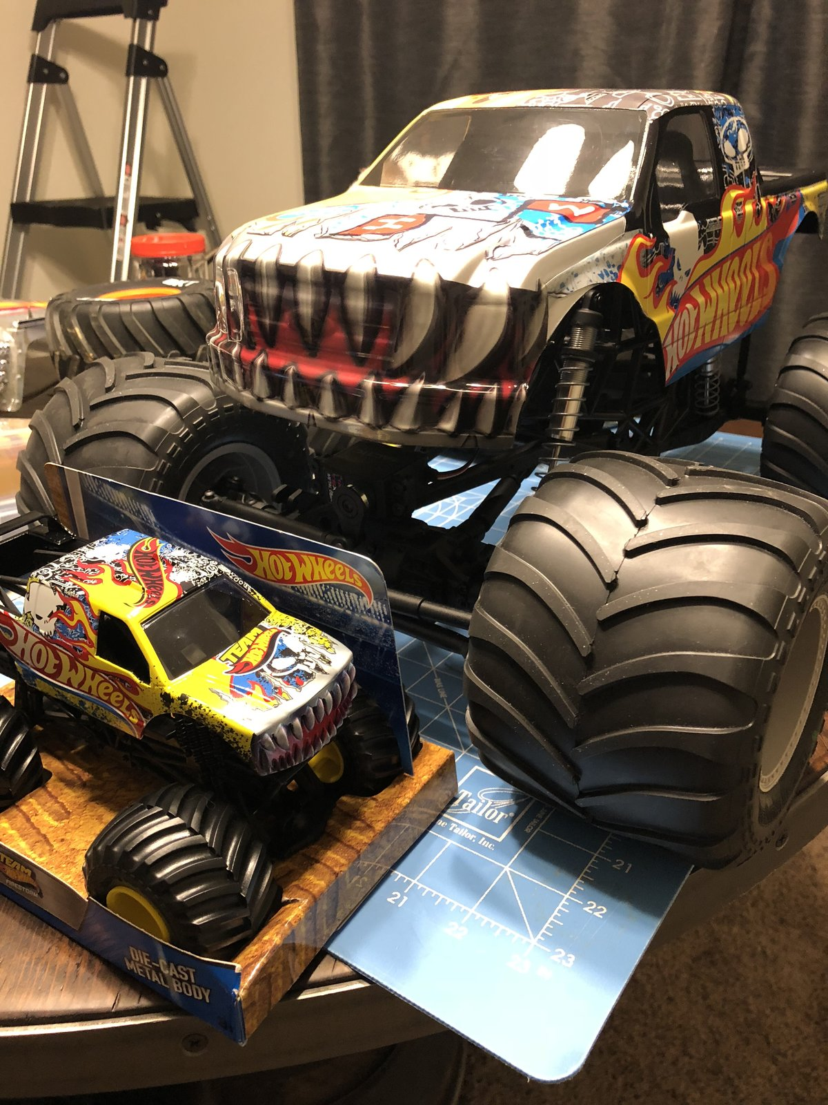 Smt10 My First Solid Axle Monster Truck Build Rc Talk Forum