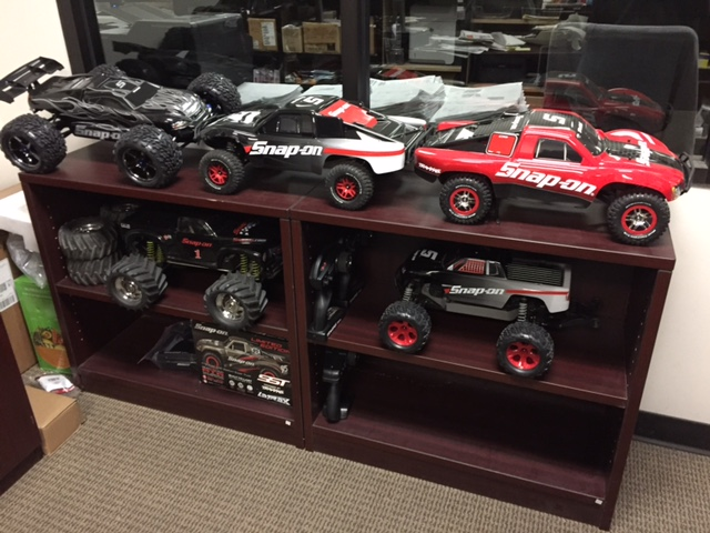 Traxxas office collection pic 2.JPG