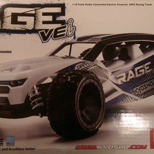 Kyosho Rage VEI Unboxing and Close Look - YouTube