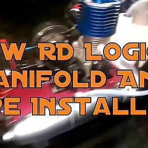 New RD Logics Manifold And Pipe Installed