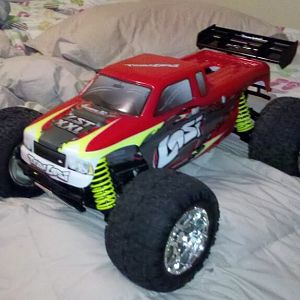 Losi xxl built from scratch