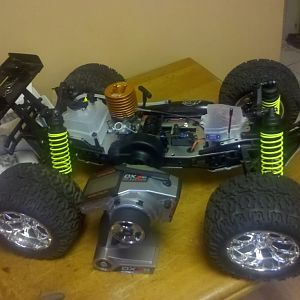 Losi xxl finished