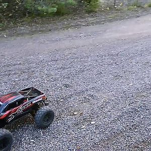 Rc car hits girlfriend!!