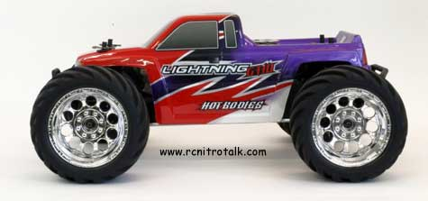 Side shot of the Lightning GT10 from Hot Bodies