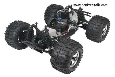 Team Losi Aftershock chassis
