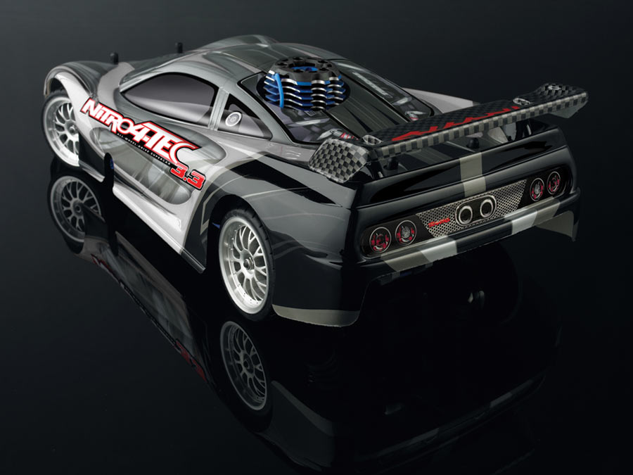 Traxxas 4-tec 3.3 back view