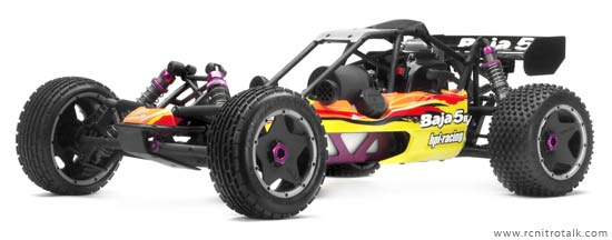 HPI Baja 5b large scale gas powered buggy