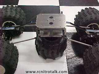 Claw Shockless Crawler Chassis
