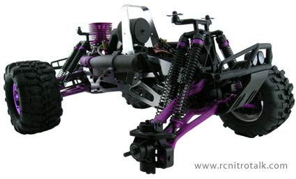 RPM A-arms for Savage installed on HPI Savage