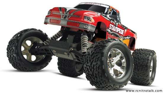 Traxxas Stampede front view