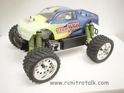 Team VTX MMT 1/28 mini nitro monster truck