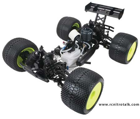 Team Losi Muggy Chassis view
