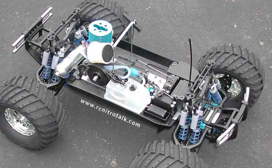 Team Associated Monster GT Chassis