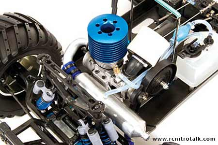 Team Associated Monster GT Engine