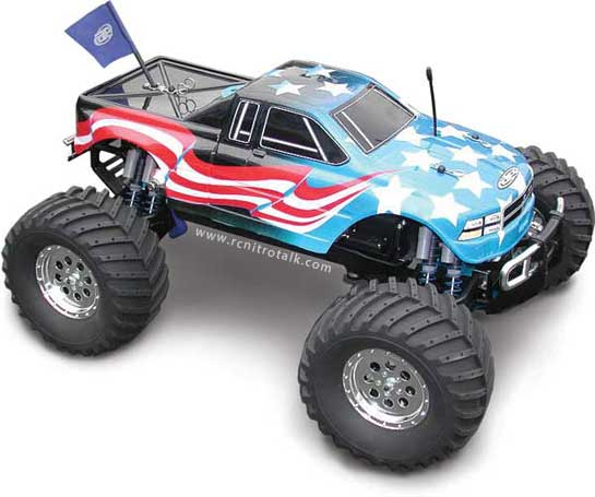 Team Associated Monster GT