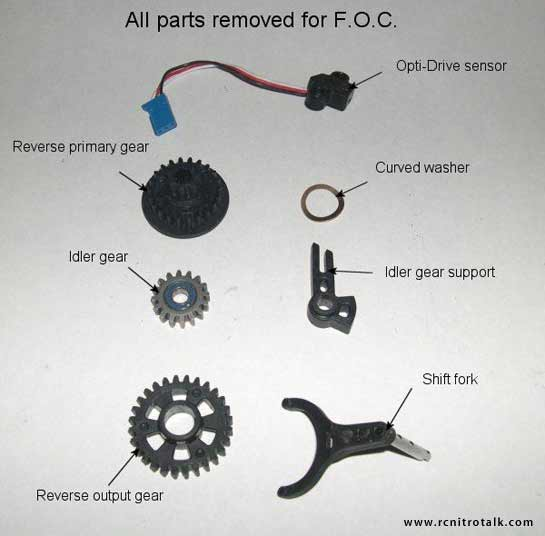Traxxas Revo FOC kit - step 5
