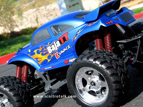 HPI E-Savage Baja TT Body Back view