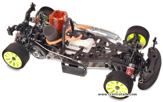 Serpent 720 chassis