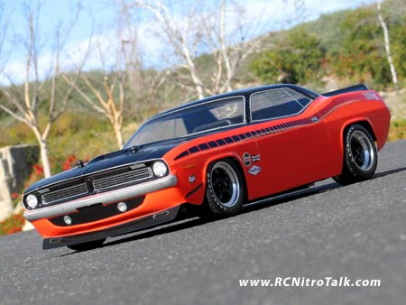 HPI 1970 Plymouth CUDA Front view