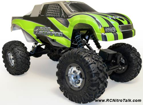 Axial AX10 Scorpion RTR - Ready to Crawl!