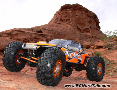 Axial XC-1 RC Rock Crawler Body