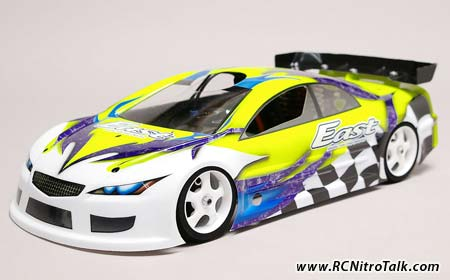 Serpent East 200mm Civic body