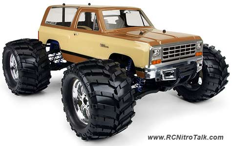 Proline 1983 Dodge Ramcharger body - RCTalk