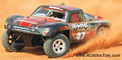 Traxxas Slayer in action