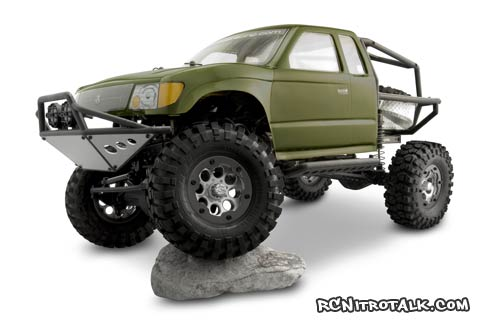 Trail Ready SCX10 with Trail Honcho body - RCTalk