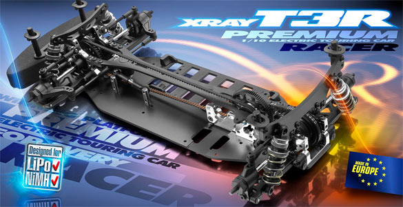XRAY T3R touring car chasis