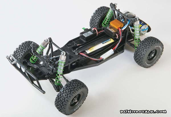 DuraTrax Evader DT chassis