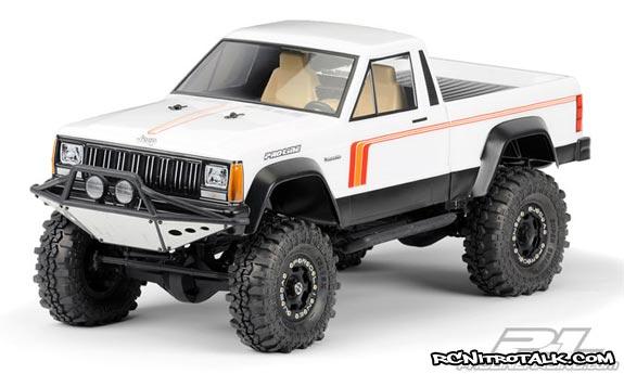 Jeep Comanche white body