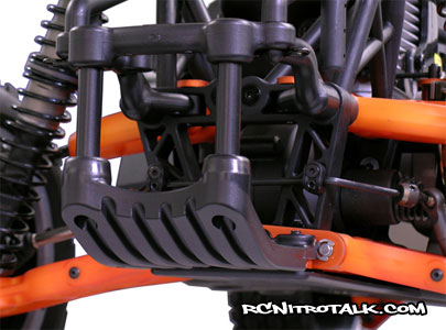 RPM Baja 5b rear skid plate