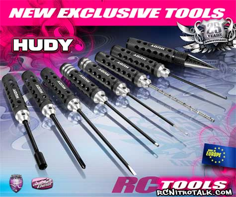 HUDY exclusive RC tools