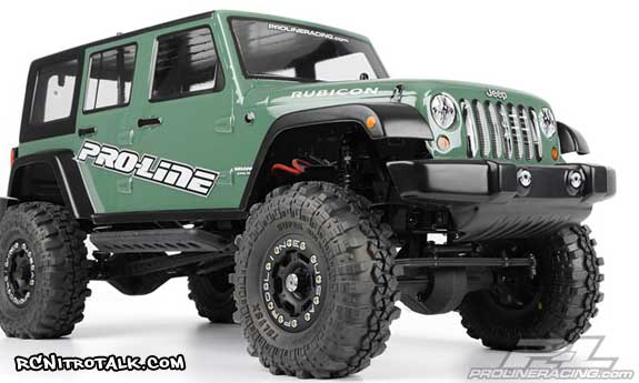 Proline Jeep Wrangler Rubicon body