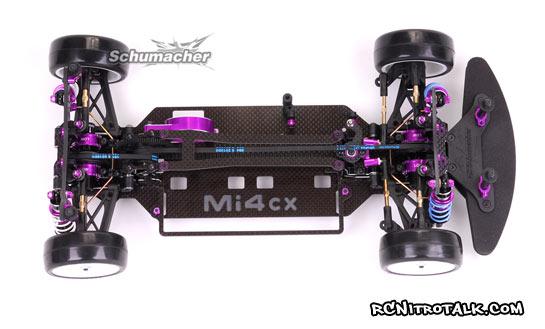 Schumacher Mi4CX chassis