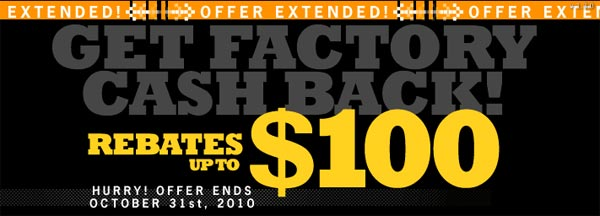 HPI fall rebate extended