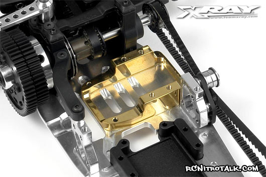 XRAY NT1 brass engine mount
