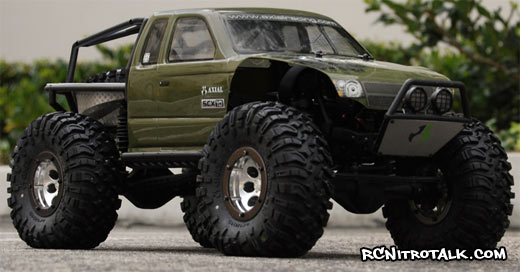 Axial Ripsaw tires mounted