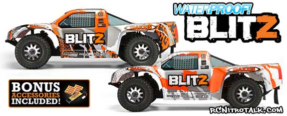 Updated HPI Blitz, now waterpoof