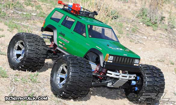 Premise 75 Vs I Maxx Pro: '92 Jeep Cherokee For Traxxas Tmaxx And Traxxas Revo