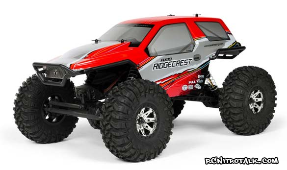 Axial AX10 Ridgecrest side