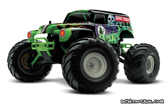 Traxxas 1/16 RTR Grave Digger Monster Truck