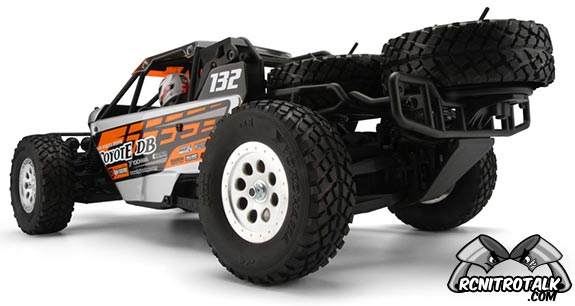 HPI Coyote DB back side