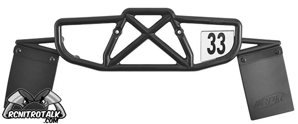 RPM Losi-SCTE rear bumper with mud flaps