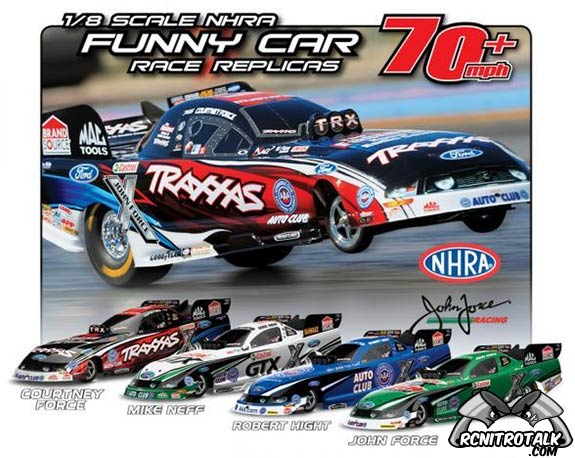 Traxxas Funny Cars