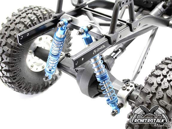 Gear Head RC SCX10 Rear Shock Relocation Kit