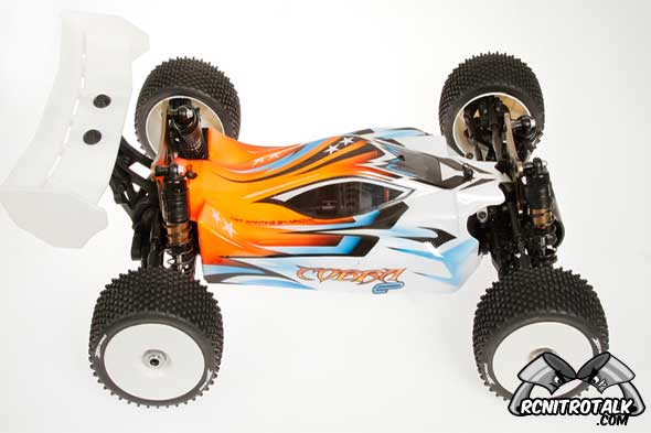 Serpent Cobra 811 Buggy-E Sport side