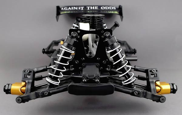 JQ Products THECar RTR front suspension