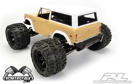 traxxas nitro trucks with Proline Bronco Body For Savage And Revo on 222440400326 also Watch moreover RedcatRacingR ageXSC4WD15GasRTRRCStadiumTruck in addition Best Rc Trucks likewise Proline Bronco Body For Savage And Revo.